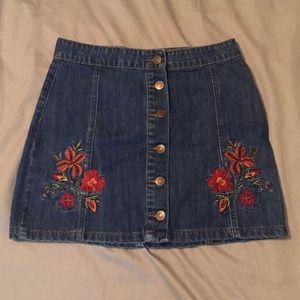 Denim Short Skirt- Forever 21